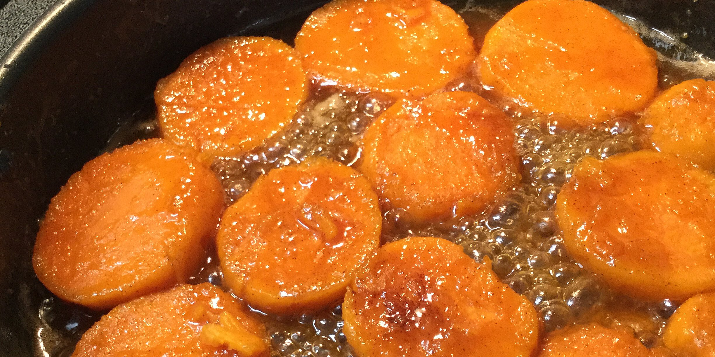stovetop candied sweet potatoes recipe