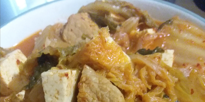 pork and kimchi soup recipe