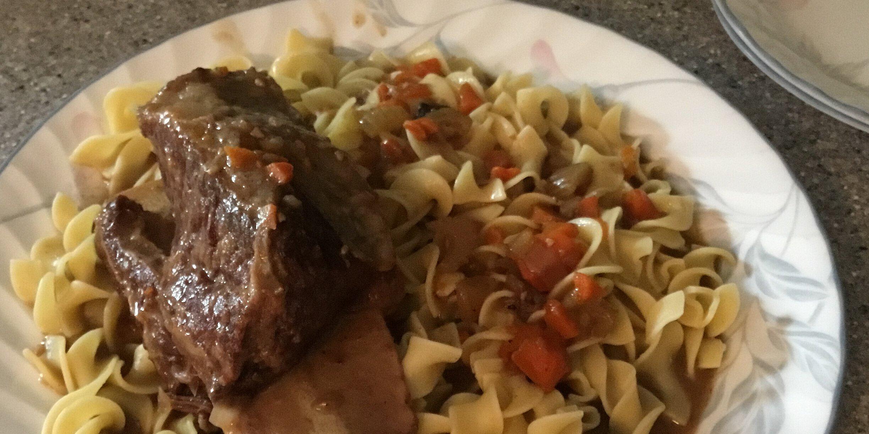 braised cabernet beef short ribs recipe