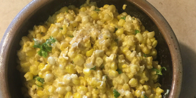 cheesy corn with cream cheese recipe
