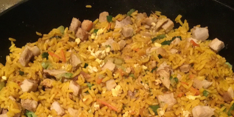 pork fried rice for a crowd recipe