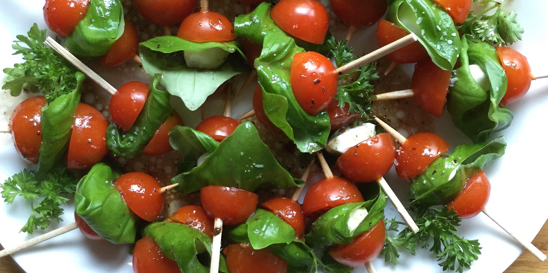 tomato and mozzarella bites recipe