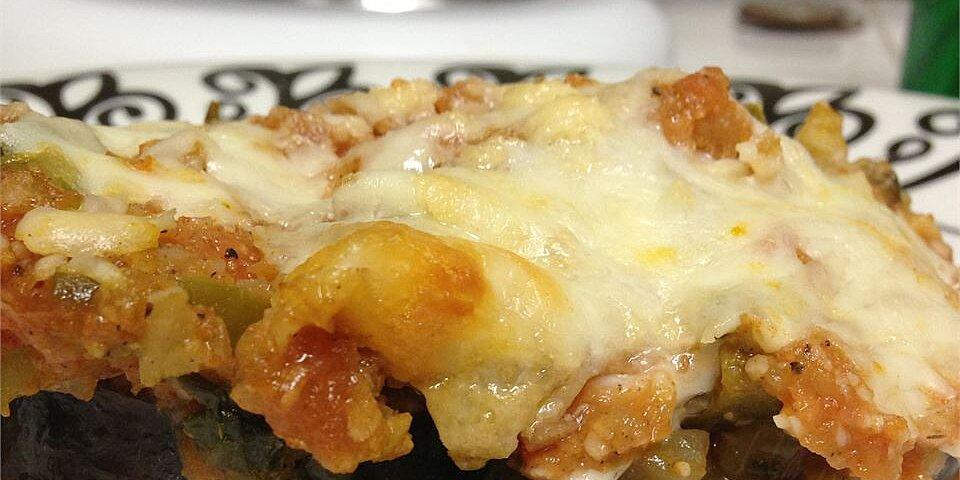 cheesy baked eggplant recipe