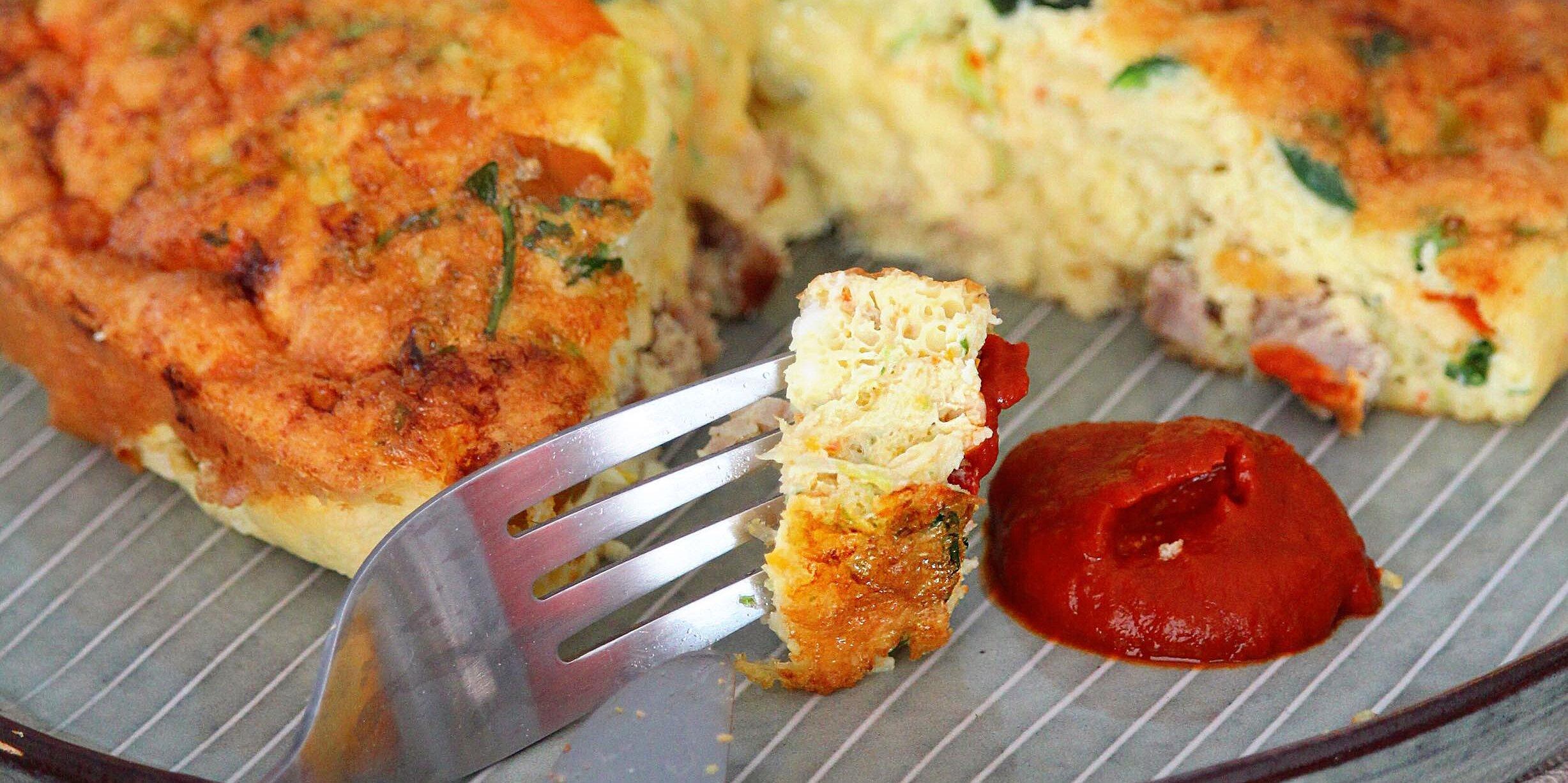 air fryer breakfast frittata recipe