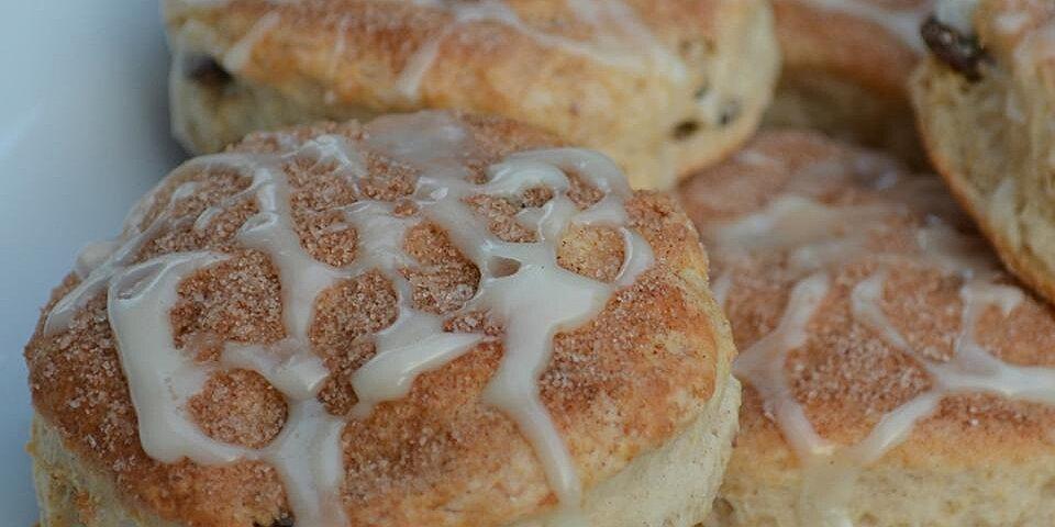 cinnamon raisin yogurt biscuits recipe