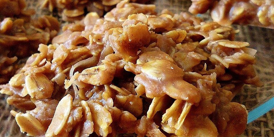 no bake choco peanut oatmeal cookies recipe