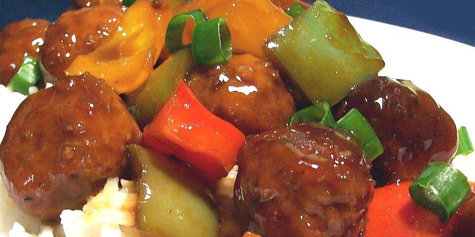 waikiki meatballs recipe