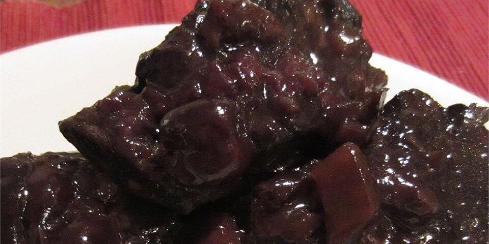 cherry balsamic short ribs recipe