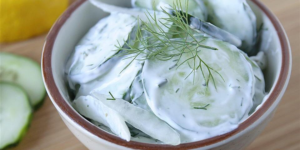 ninas cucumber salad recipe