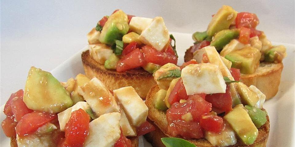 most amazing salad tomato mozzarella avocado and bliss recipe