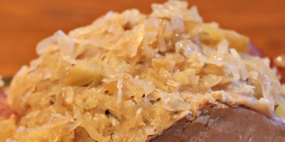 pork roast and sauerkraut recipe