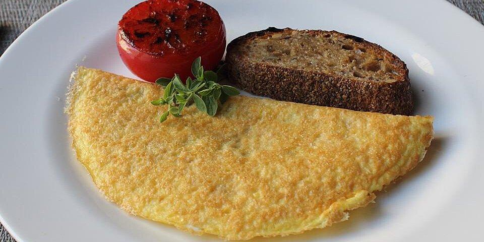 parmalet crisp parmesan omelet