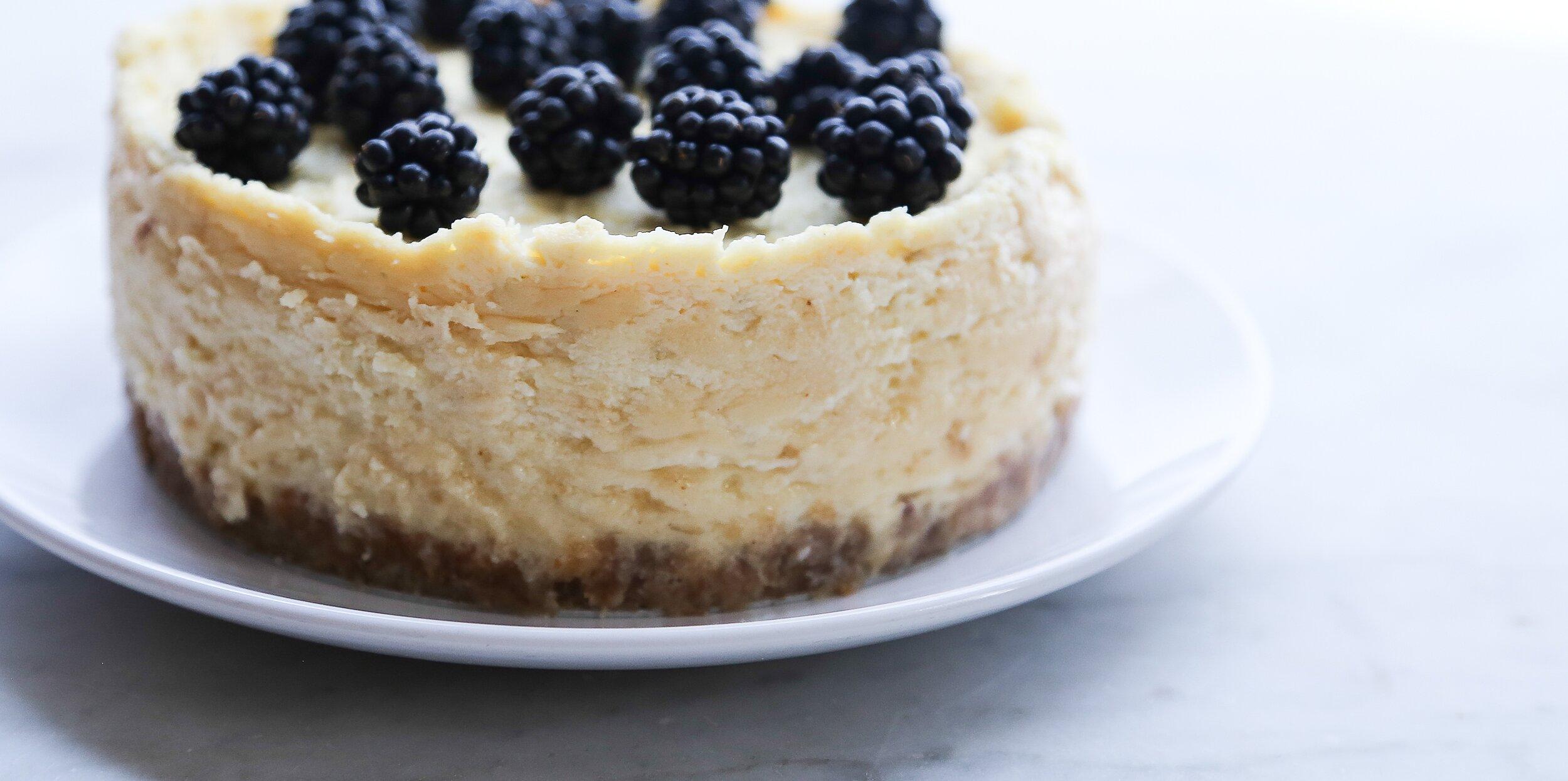 instant pot cheesecake recipe