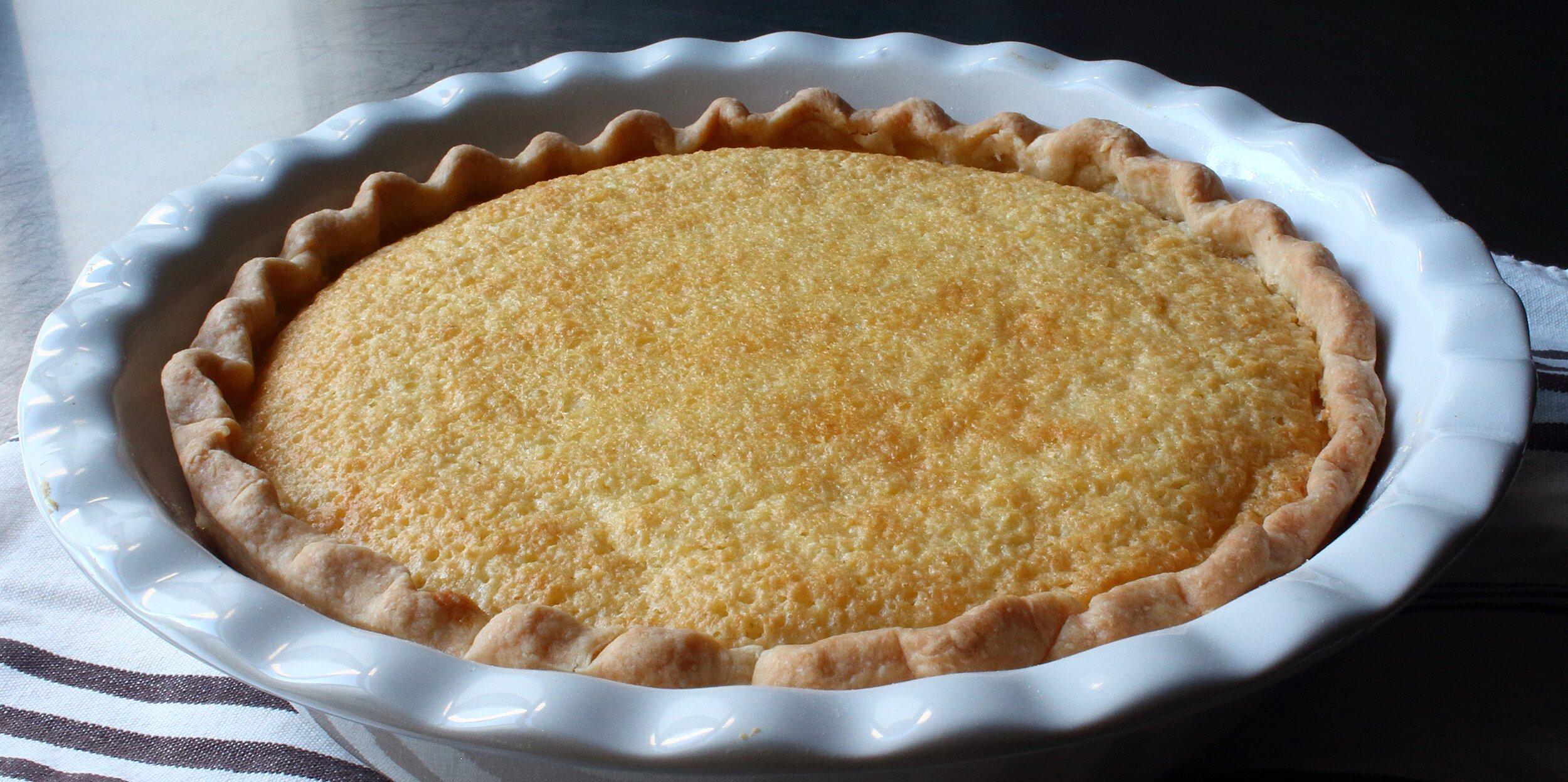 chef johns buttermilk pie