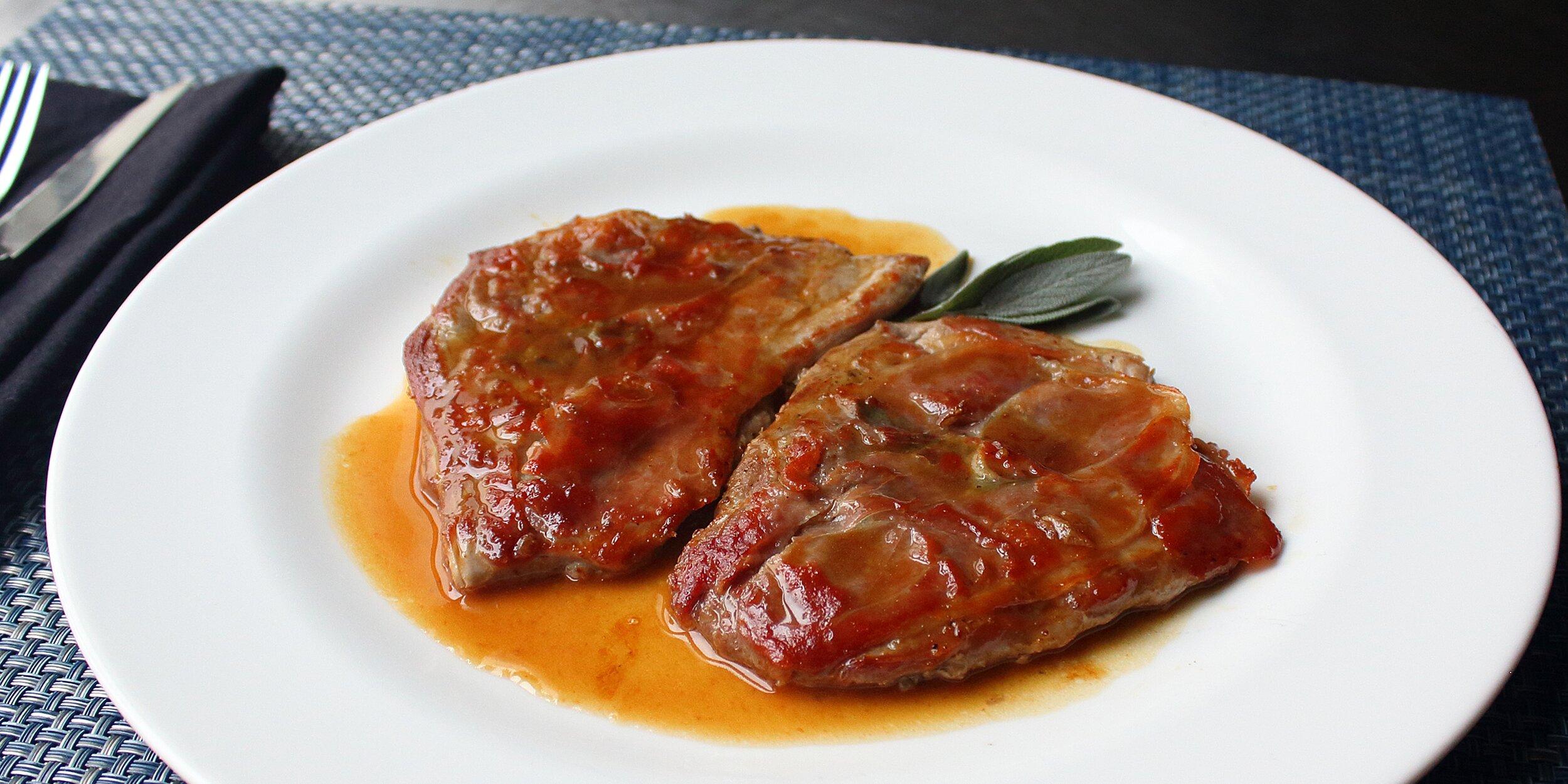 pork saltimbocca
