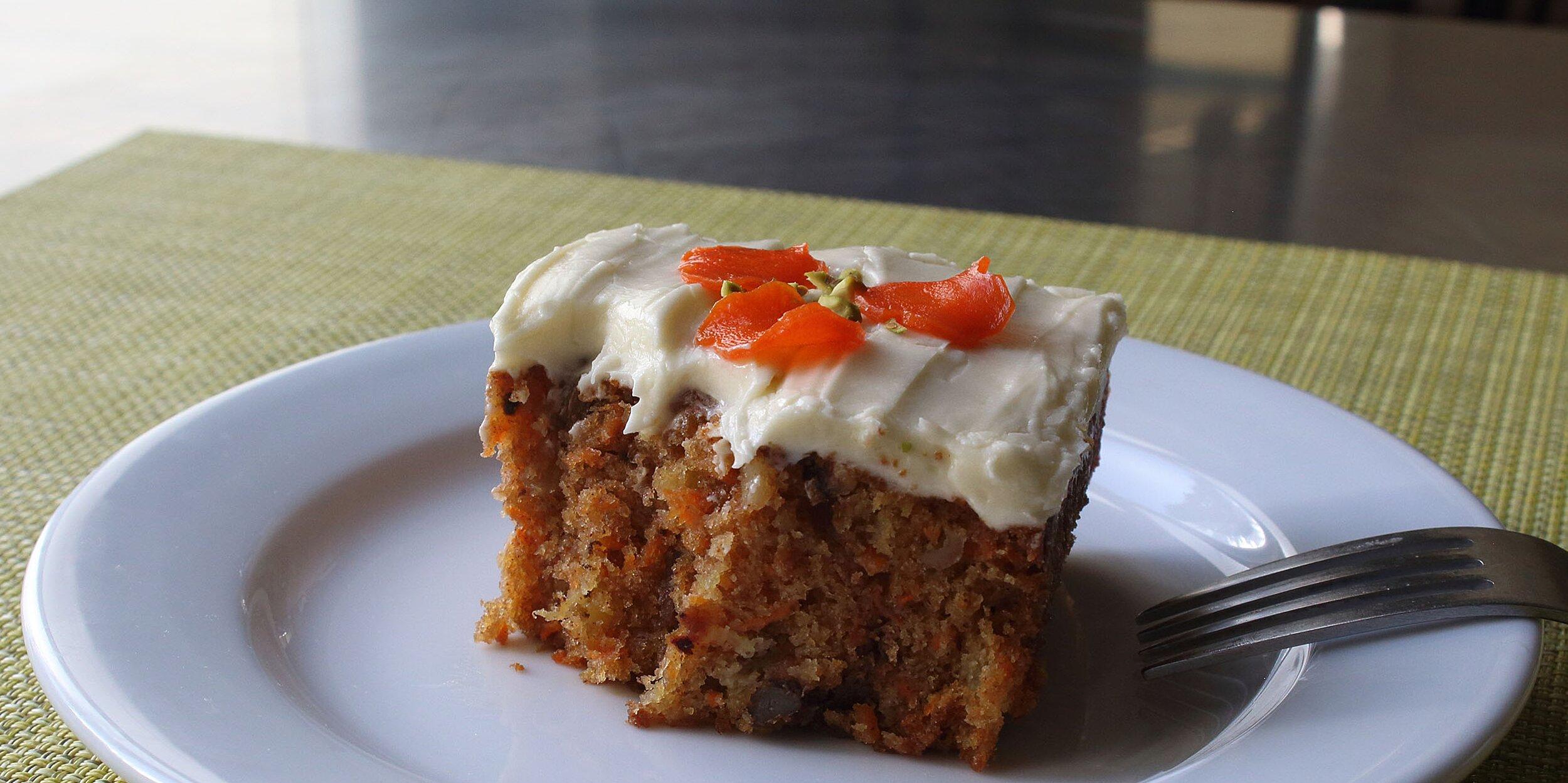 chef johns carrot cake