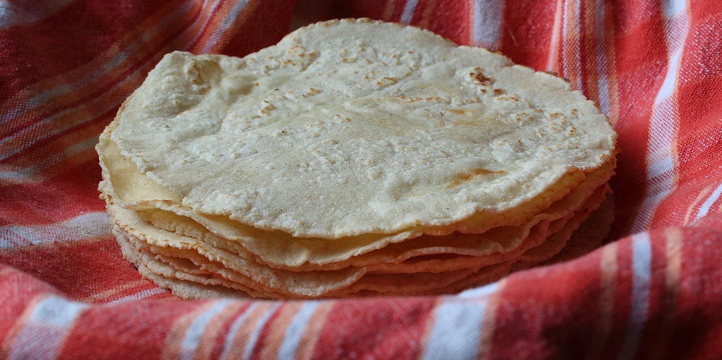 chef johns corn tortillas