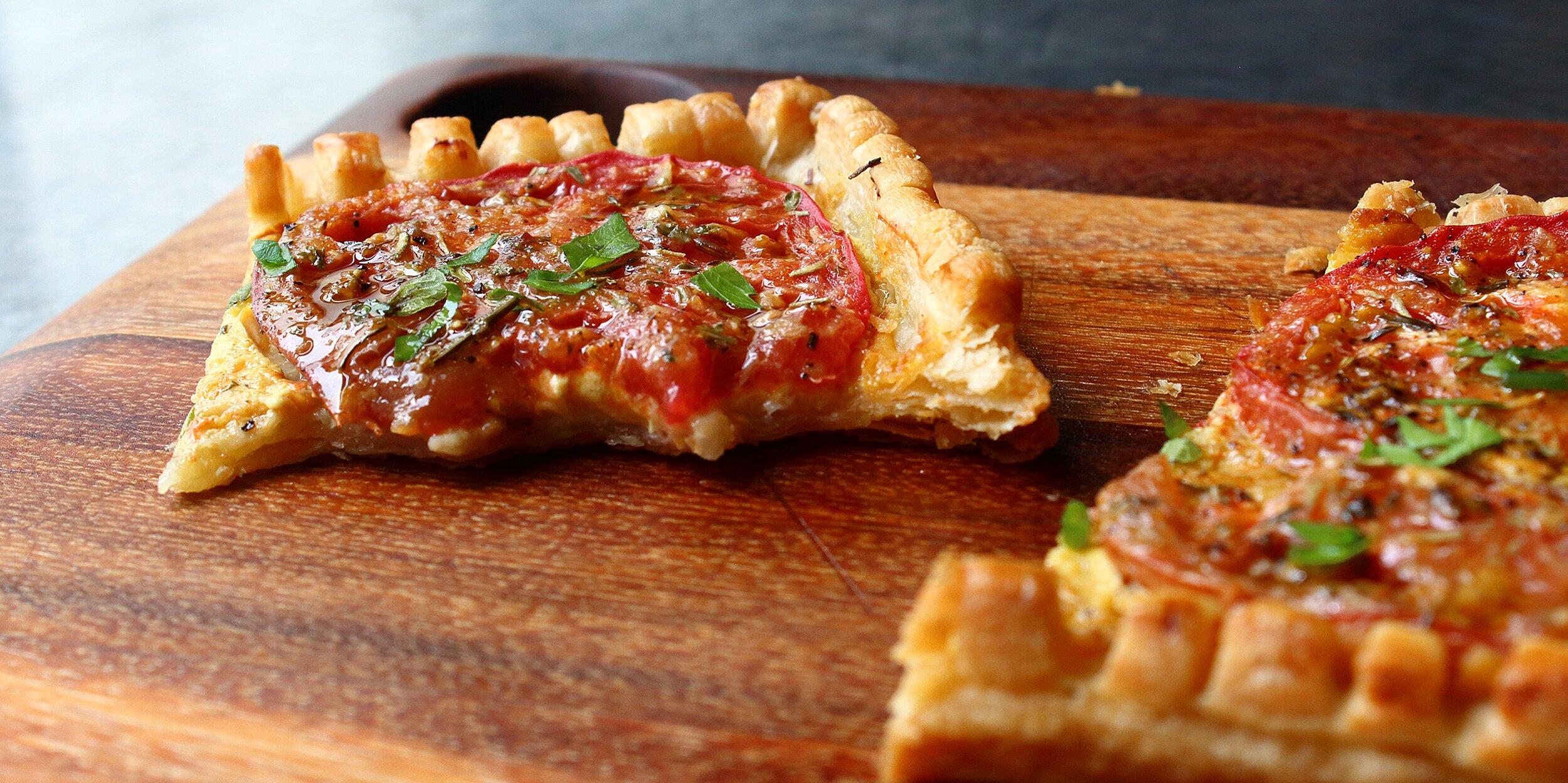 chef johns tomato tart