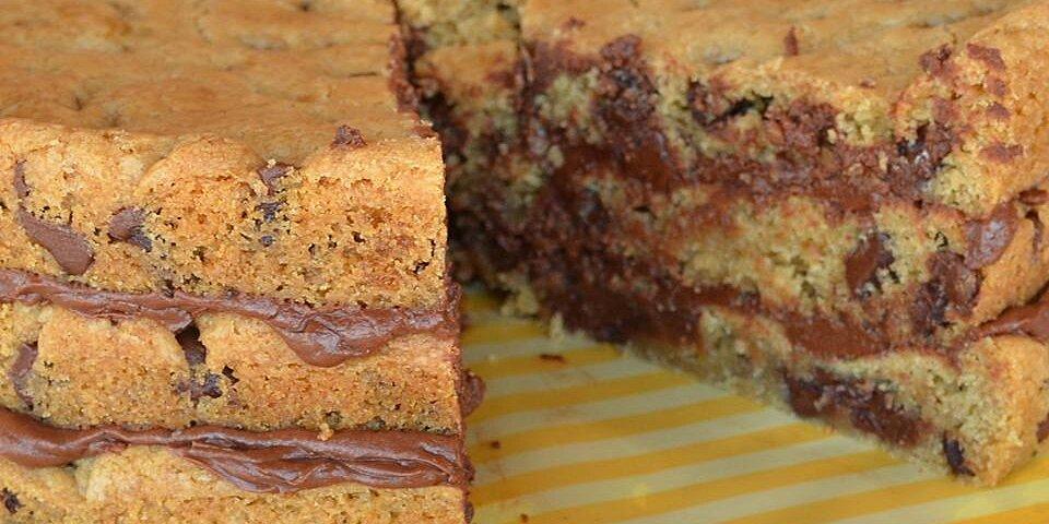 chocolate chip cookie layer cake recipe