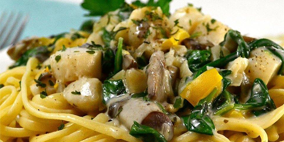 debs scallops florentine recipe