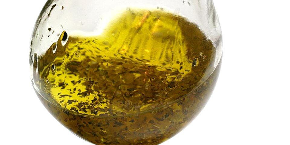 herb garlic oil recipe