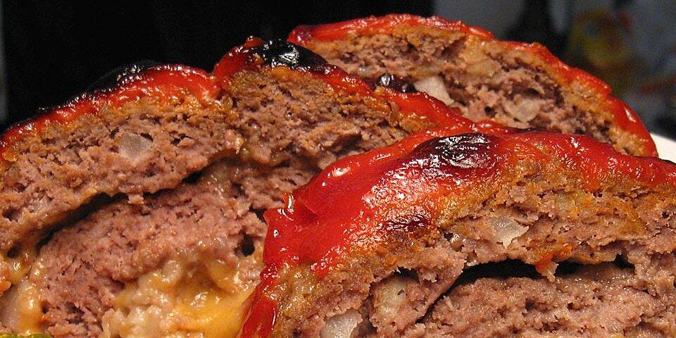 cheeseburger meatloaf recipe