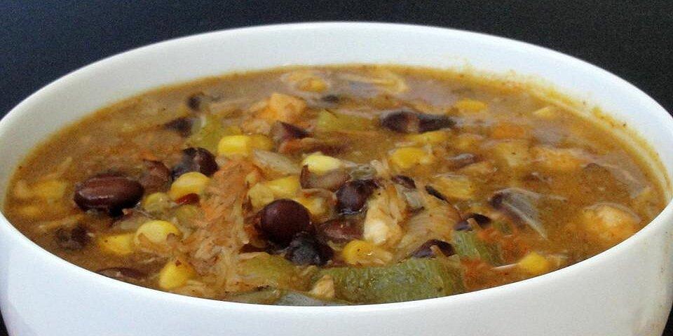 chicken corn black bean soup recipe