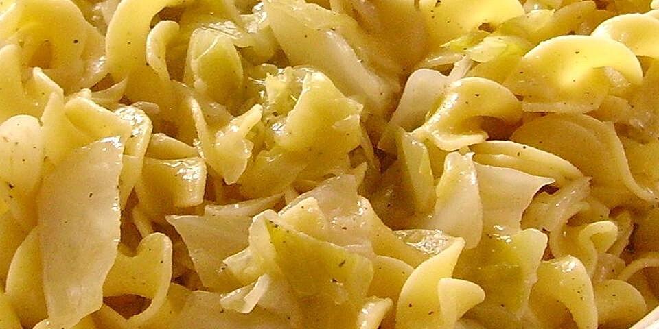 haluski cabbage and noodles recipe