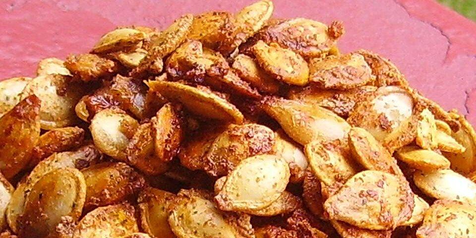 baked pumpkin seeds recipe