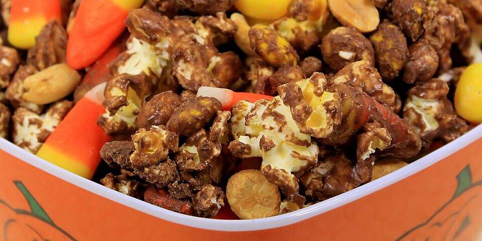 monster munch halloween popcorn mix recipe