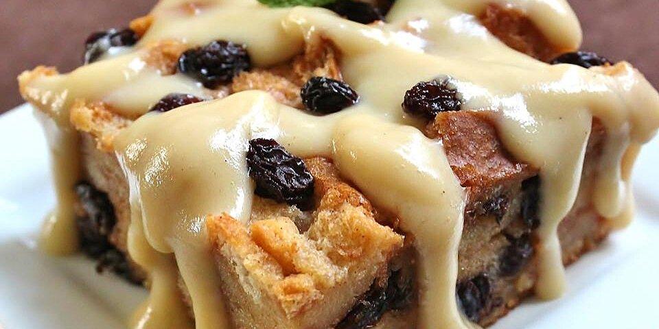 best bread pudding with vanilla sauce recipe