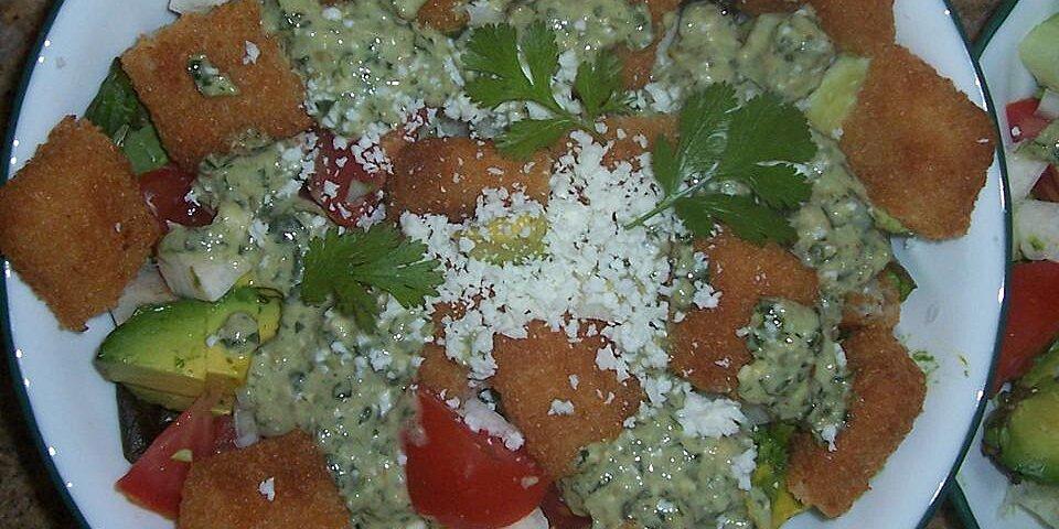 fish taco salad recipe