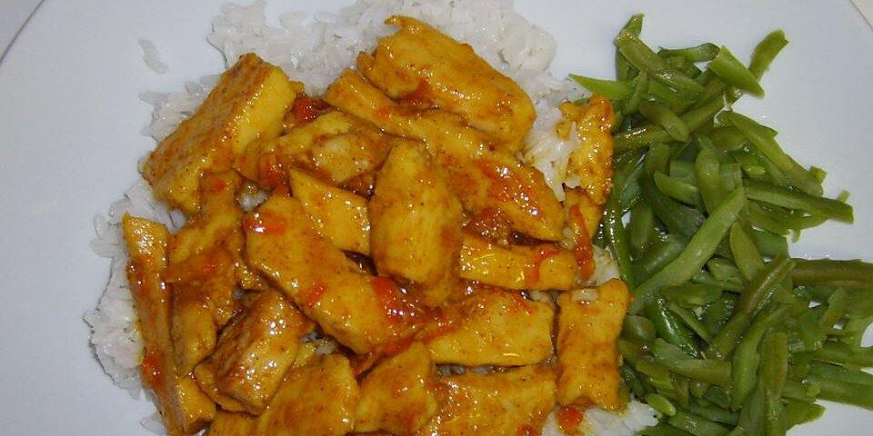 orange curried chicken recipe