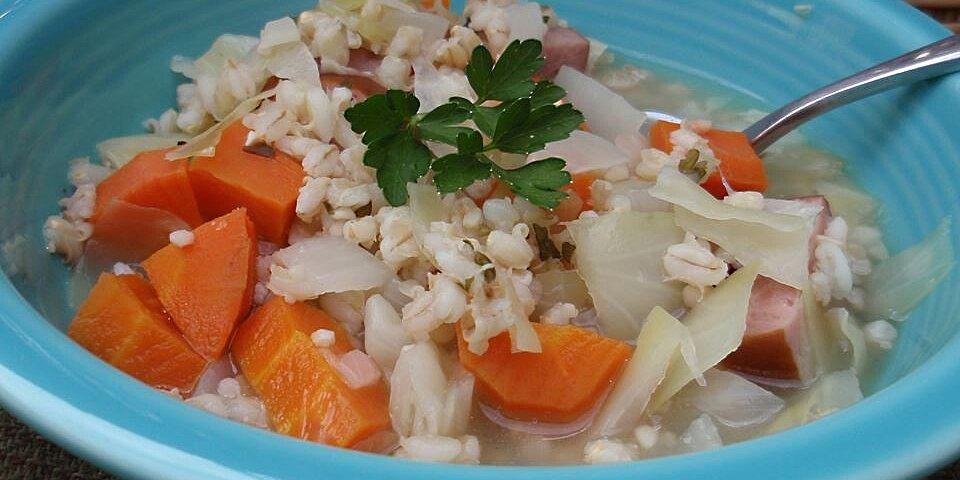 cabbage soup ii recipe
