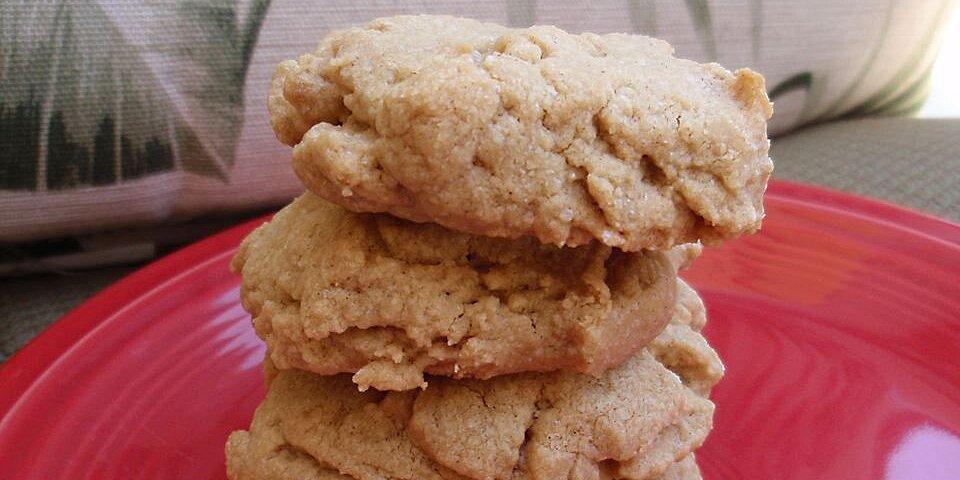 sugar free peanut butter cookies recipe