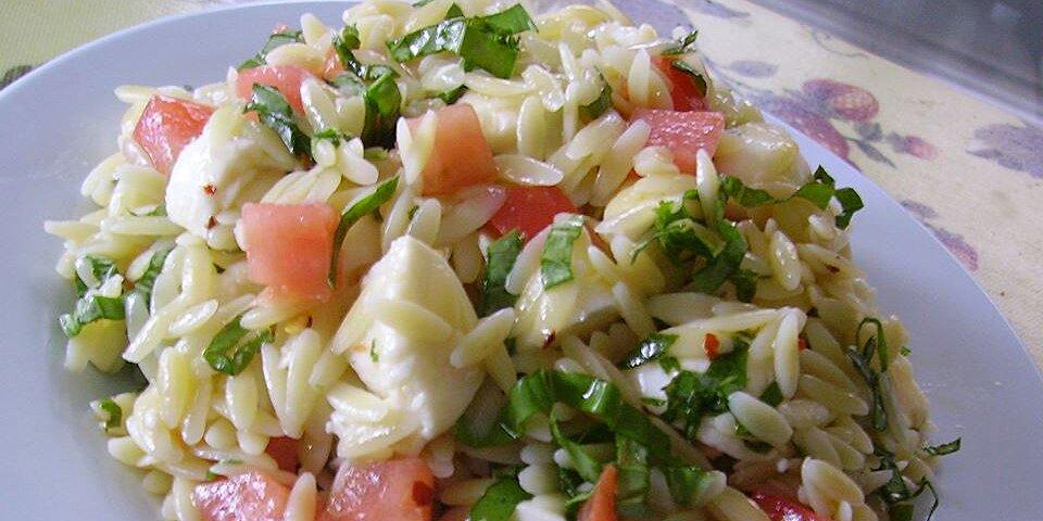fresh mozzarella pasta salad recipe