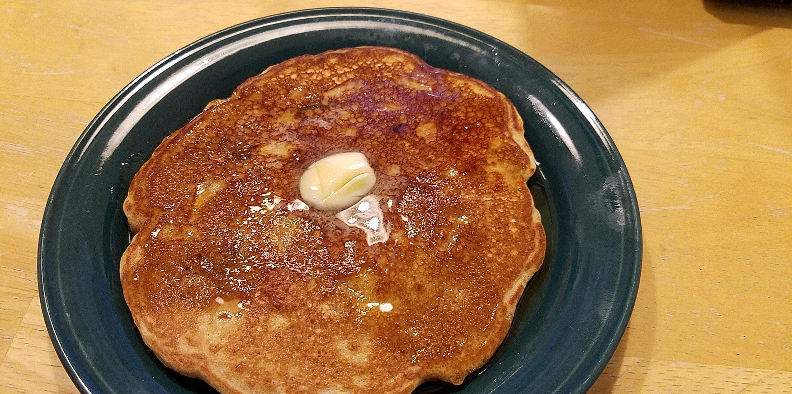100 whole wheat harvest pancakes recipe