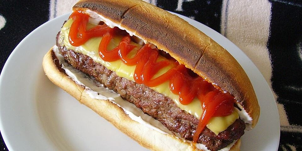 all american burger dog