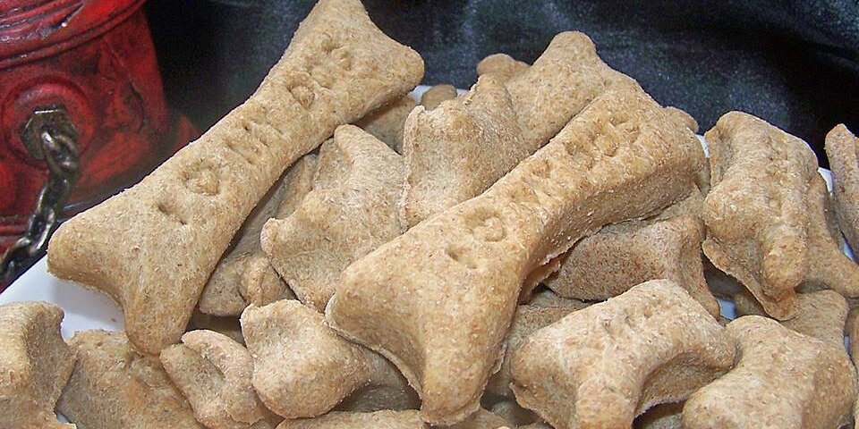 bacon flavored dog biscuits recipe