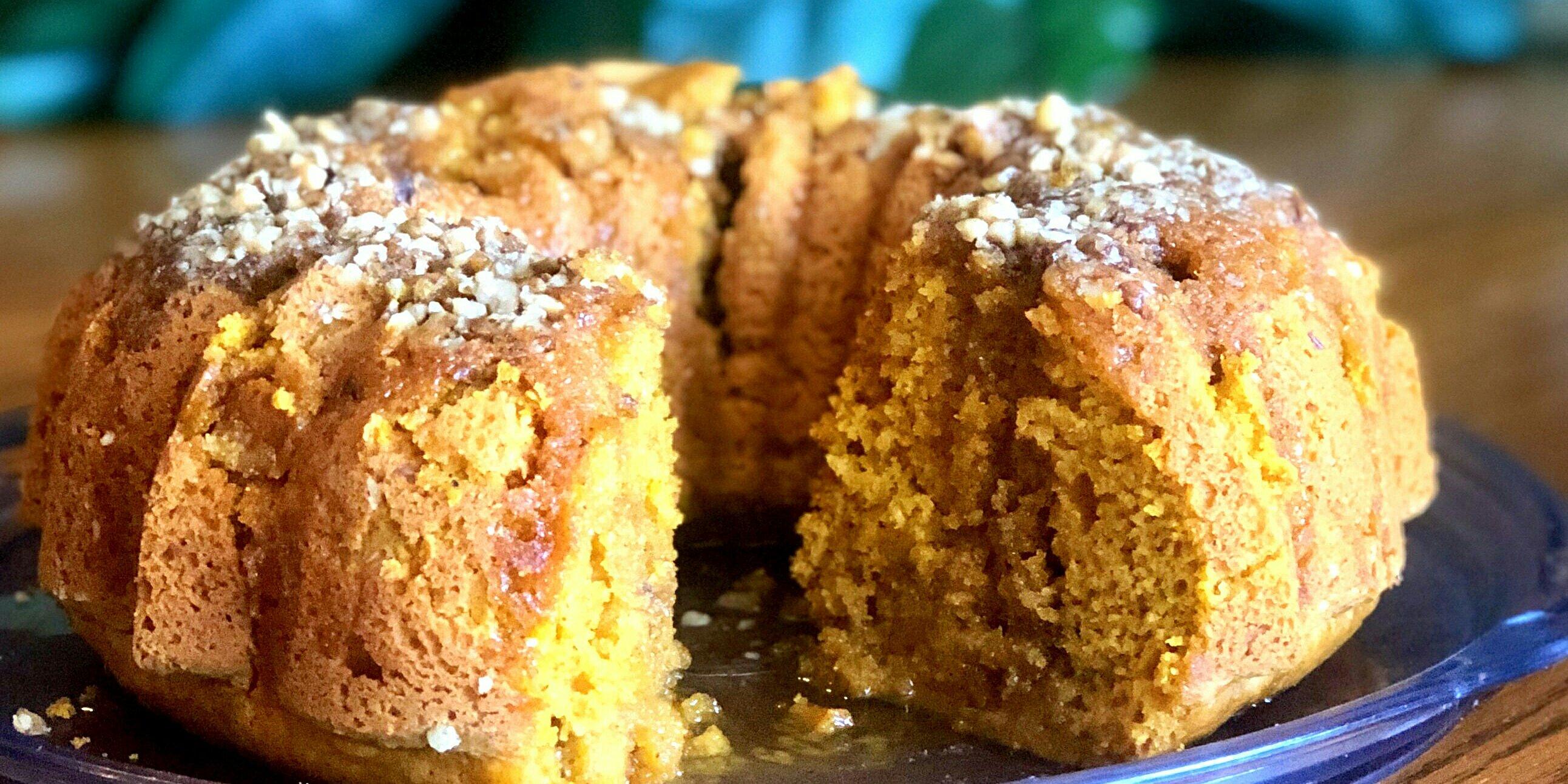 pumpkin bundt cake with rum glaze recipe