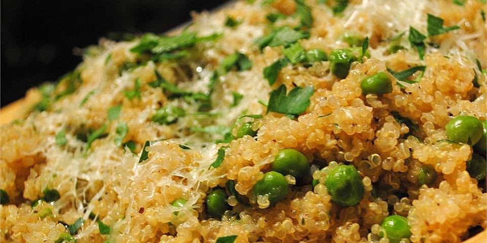 quinoa with peas recipe
