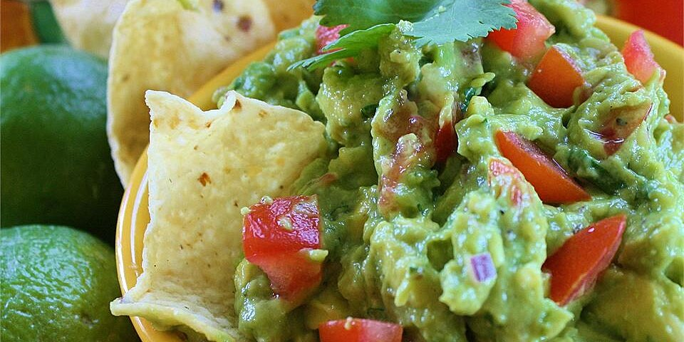 yummy guacamole recipe