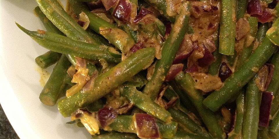 green bean curry recipe