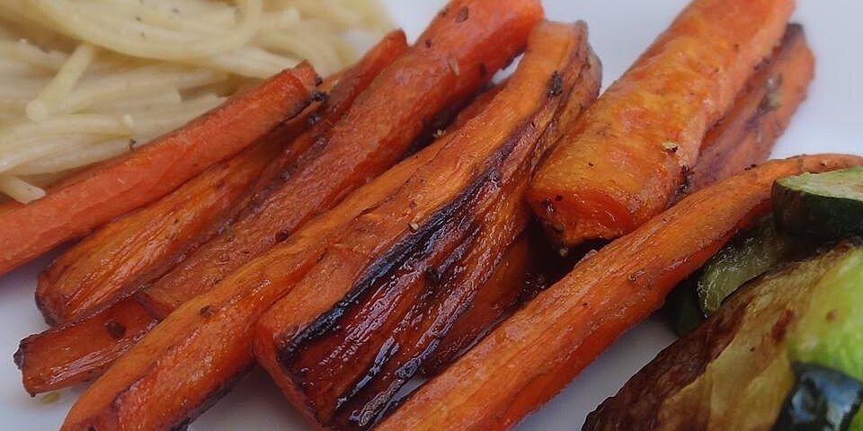 balsamic roasted carrots