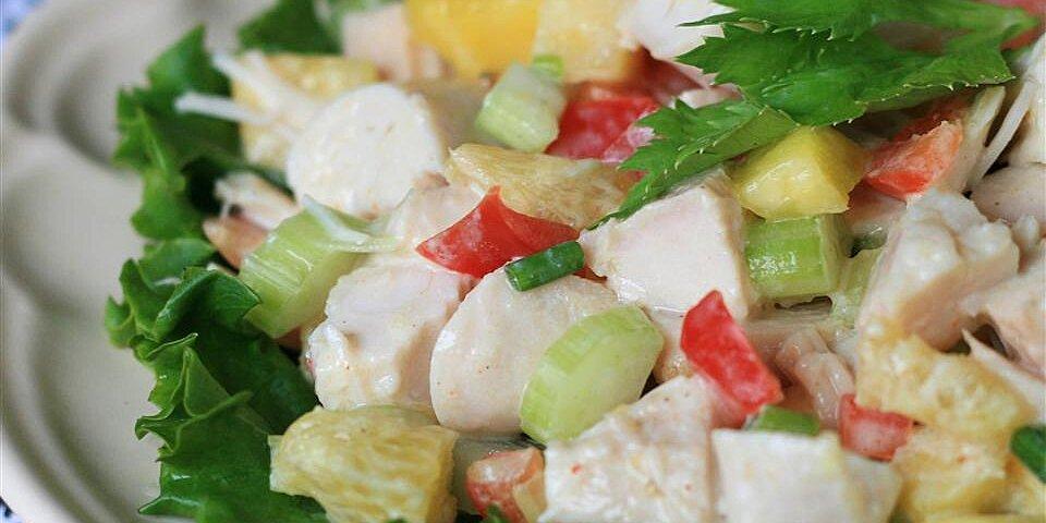 tropical turkey salad recipe