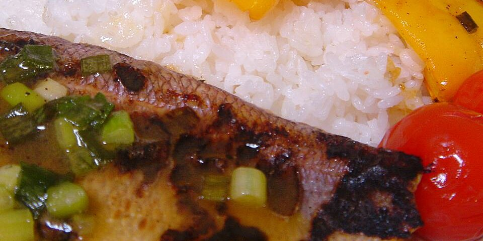 pan seared red snapper recipe