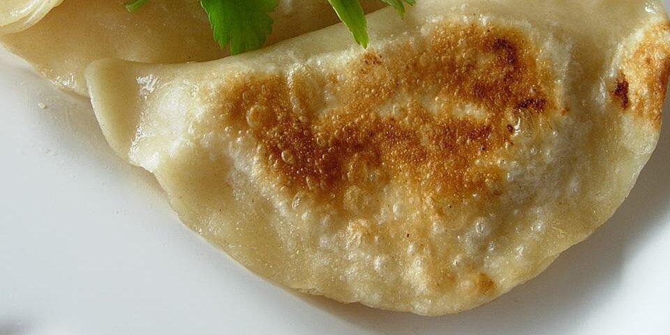 shortcut potato onion perogies recipe