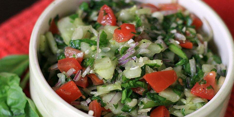 amazing cucumber basil salad recipe