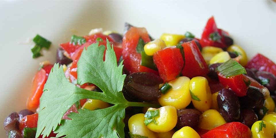 black bean and corn salad ii recipe
