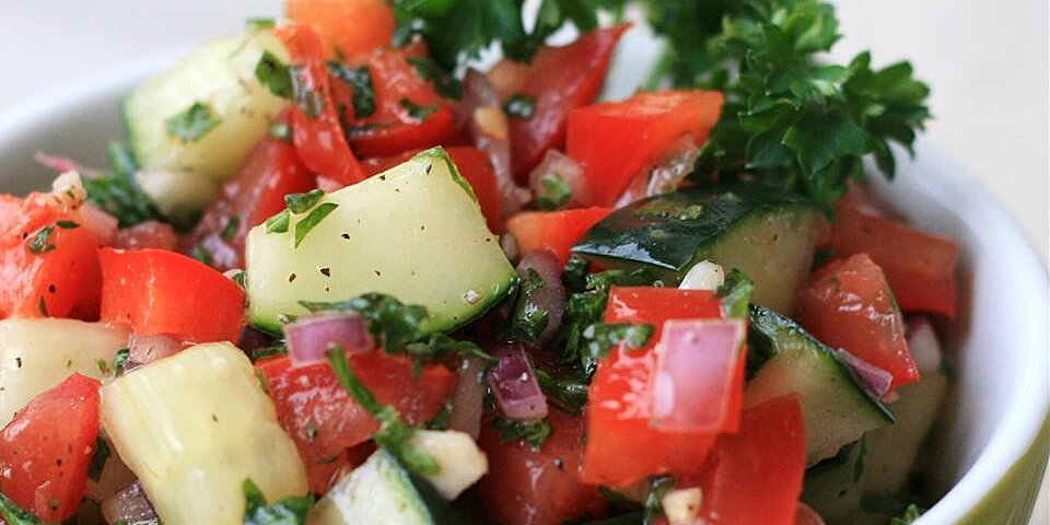 israeli tomato and cucumber salad recipe